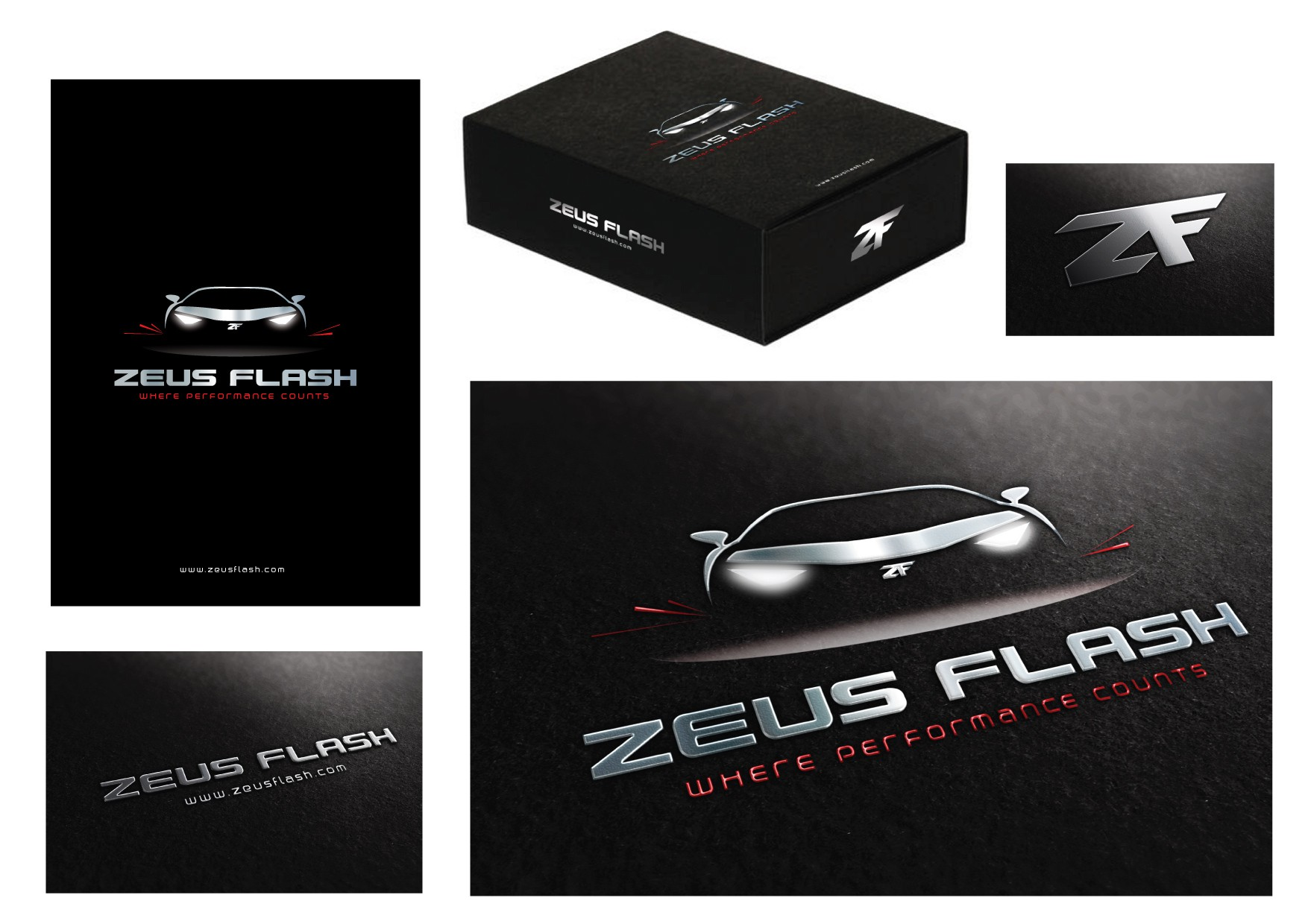 Create the next product packaging for Zeus Flash