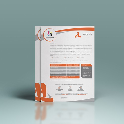 Direct mail for Antesis