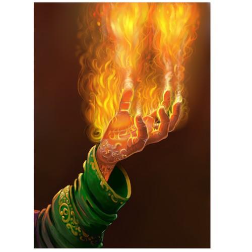 Hand fire