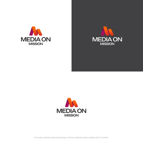 Media on Mission Logo