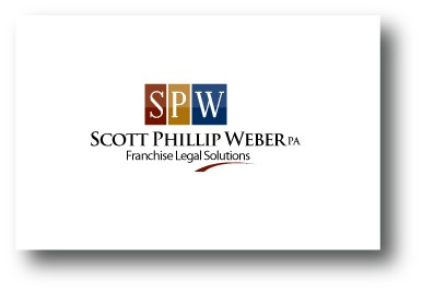 Create the next logo for Scott Phillip Weber, P.A.  Franchise Legal Solutions