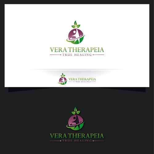 Design a logo for Vera Therapeia, a company selling products that heal.
