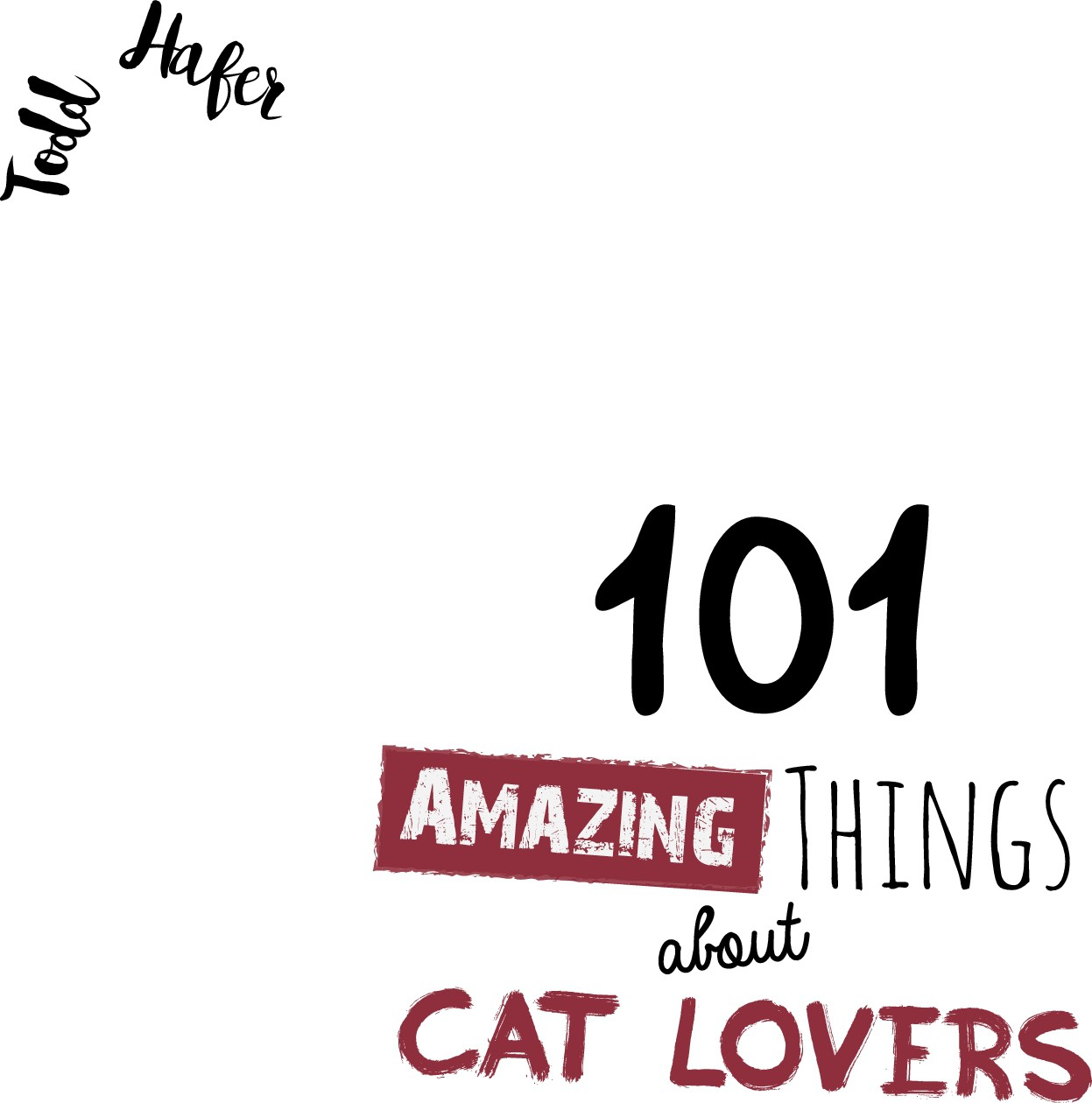 101 Amazing Things About Cat Lovers book cover