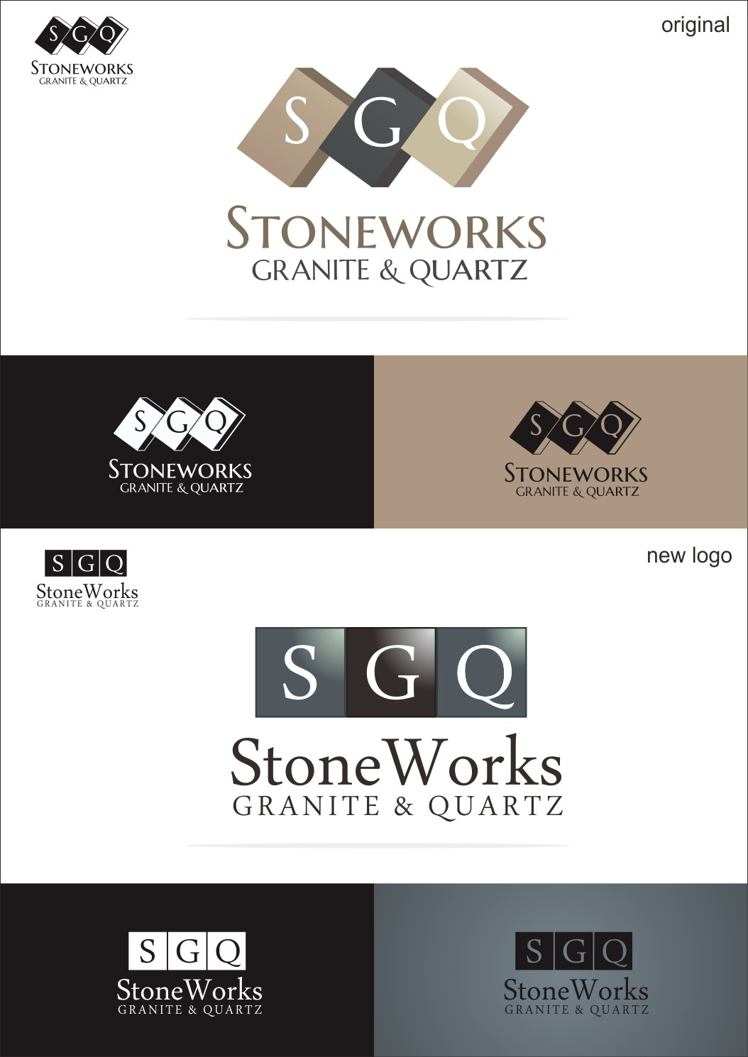 New logo wanted for Stoneworks Granite and Quartz
