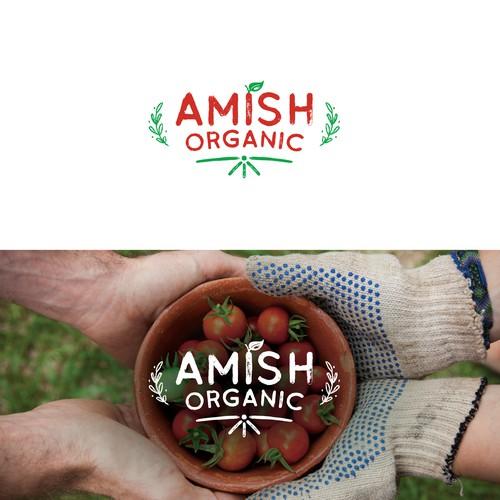 Logo for organic food retailer