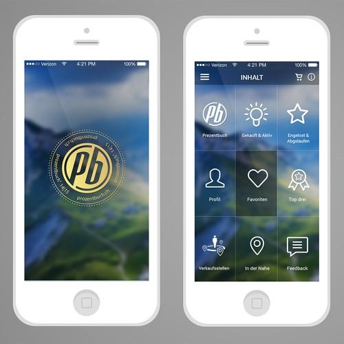 Voucher-App design