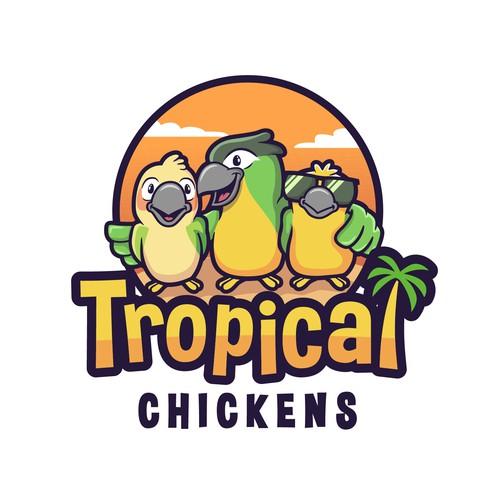 Tropical Chickens logo
