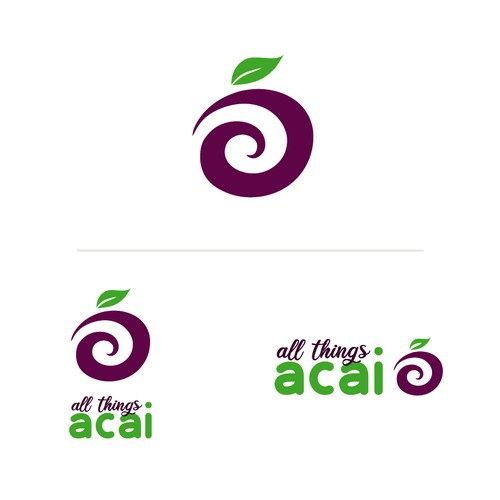 Logotipo All Things Acai
