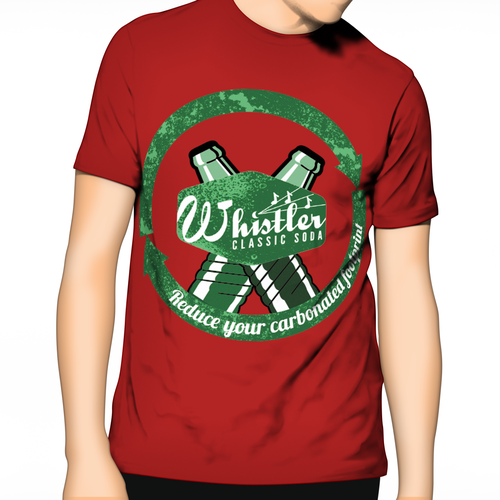 Design a T Shirt for Whistler Classic Soda