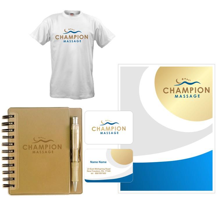 Champion Massage needs a new logo