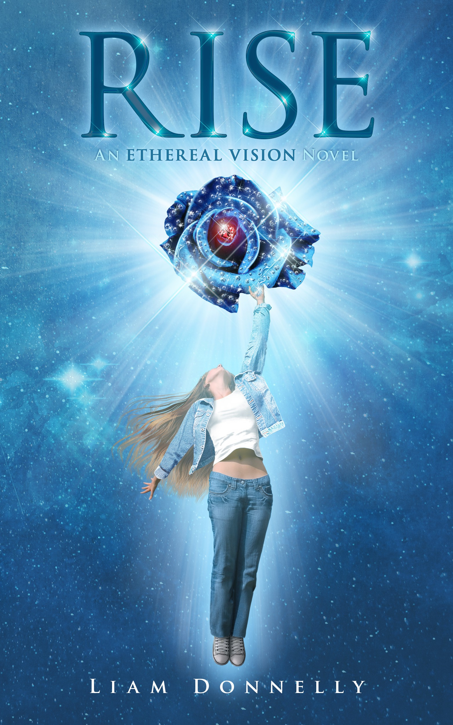 "Create a tremendous cover for Paranormal / sci-fi novel, second in ""The Ethereal Vision"" series."