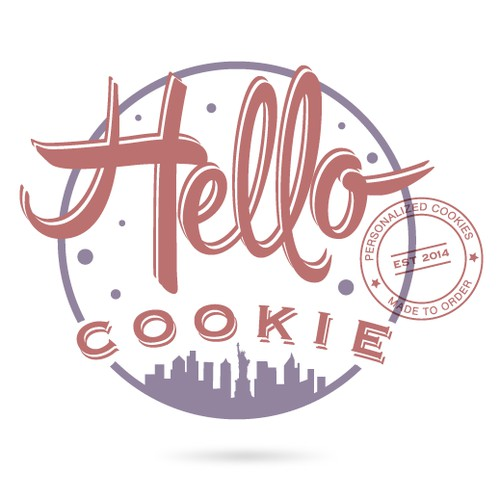 Create a logo for Hello Cookie, win free cookies!