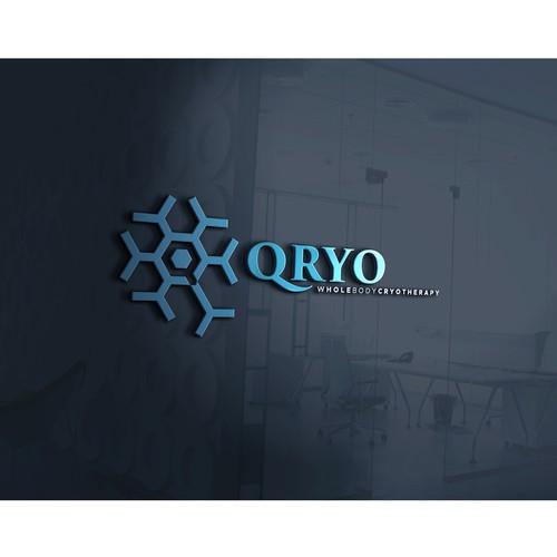 Cryotherapy Agency Logo concept.