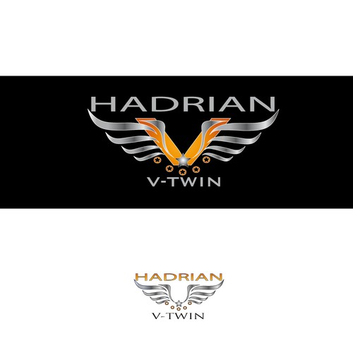 logo for HADRIAN V-TWIN