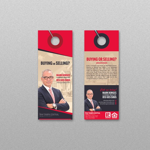 Realtor Door Hanger Design