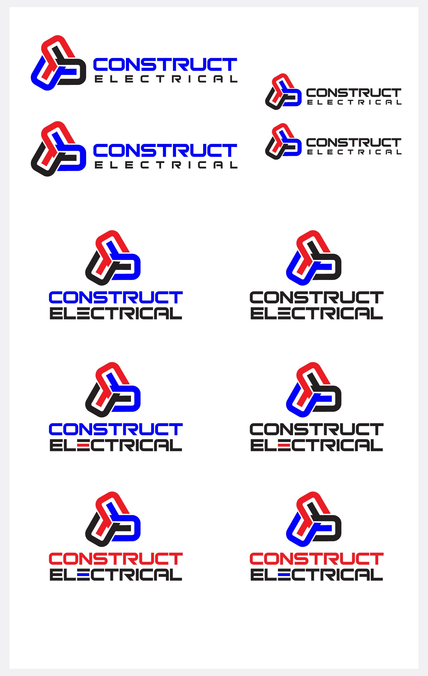 Create a Dynamic Logo For CONSTRUCT Electrical!!!