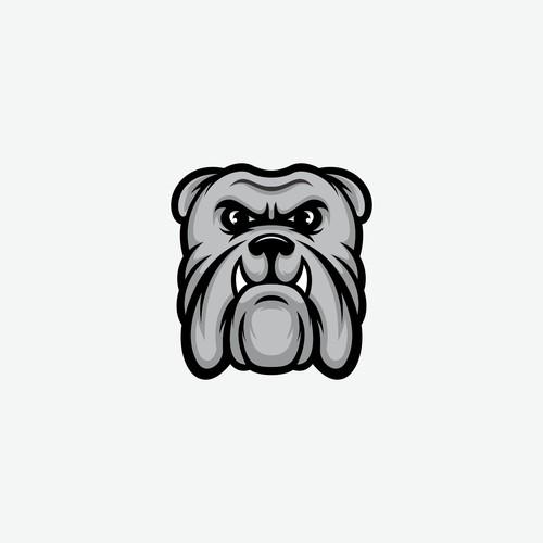 bulldog logo concept for Hinkle Hardwood