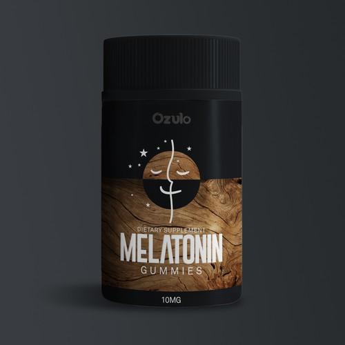 Ozulo Melatonin Label