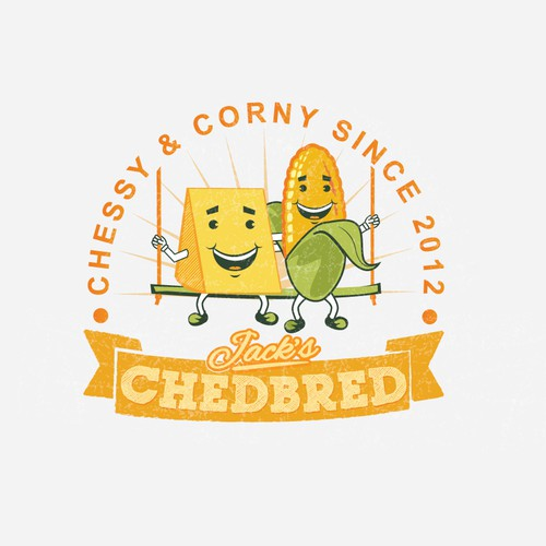 Rethink and inject new life into the Jack's Chedbred logo!