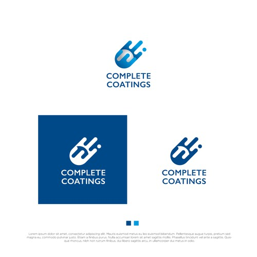 Logo for specialised coatings company