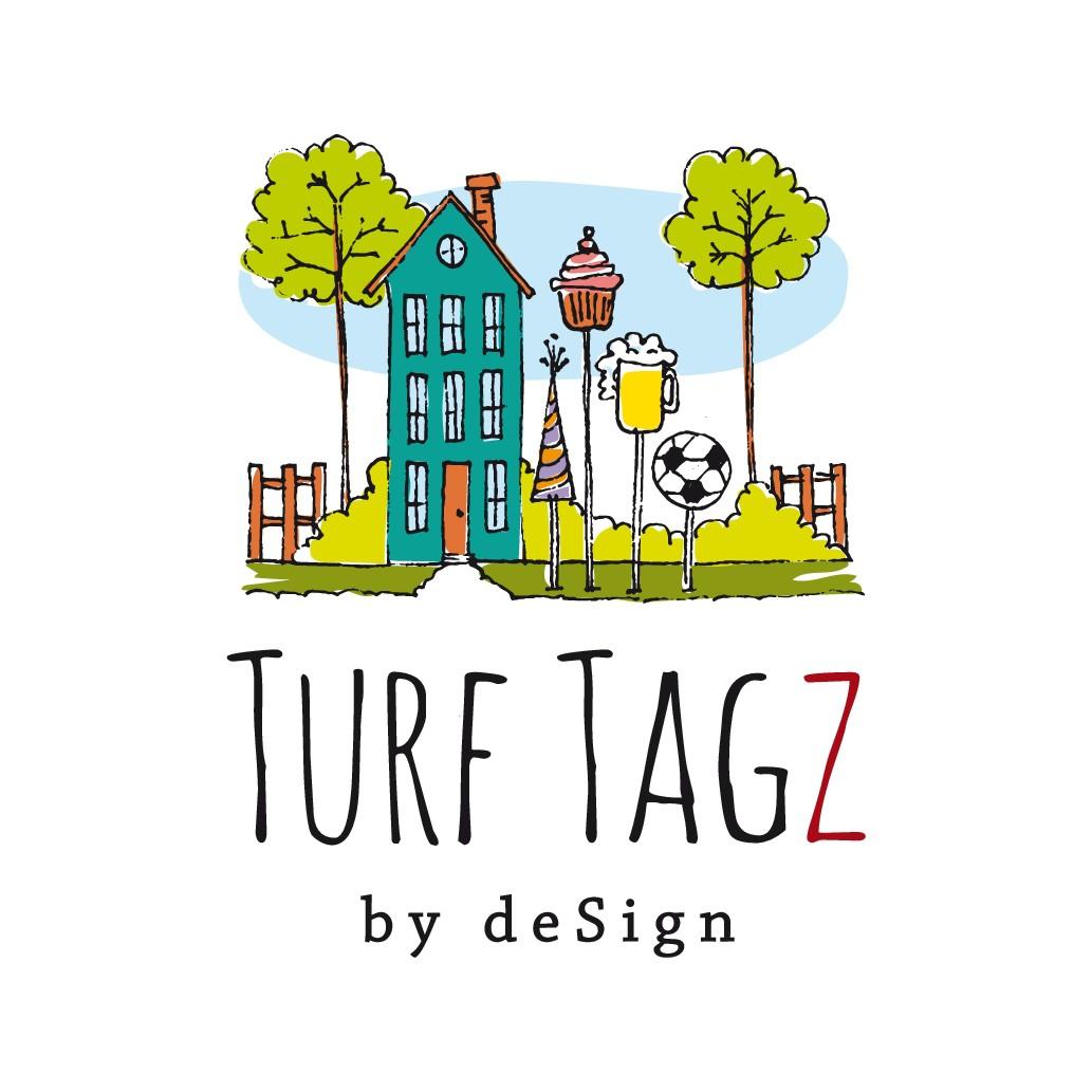 Design a logo for fun yard celebration displays