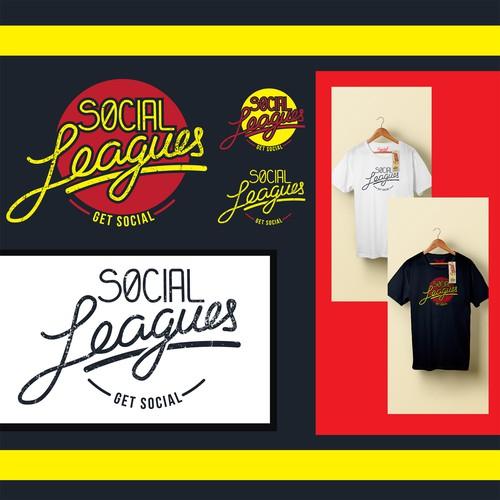 Logo for social leagues