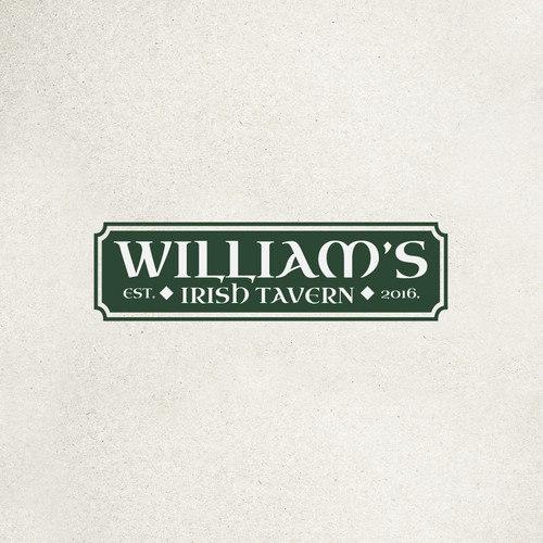 Logo for Willliam's irish tavern