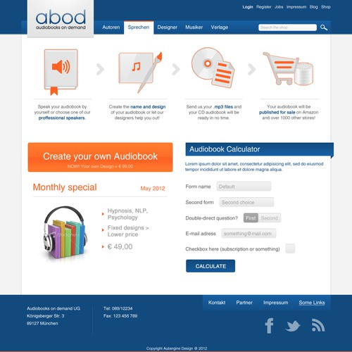website design for ABOD