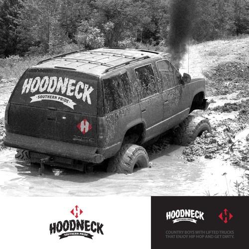 Hoodneck Logo Design