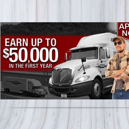Facebook Ad for Trucking Company