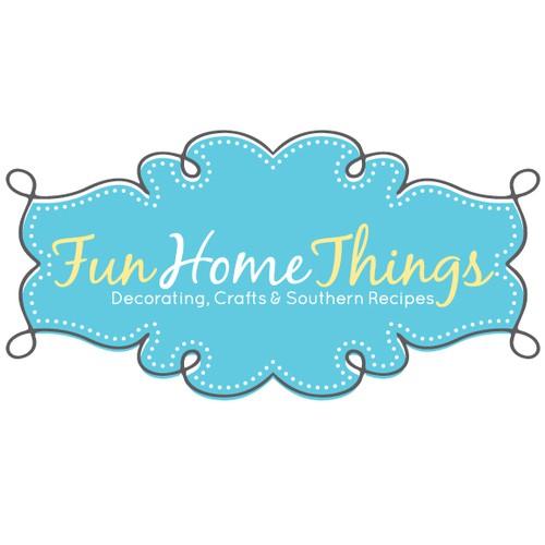 Playful logo for DIY website