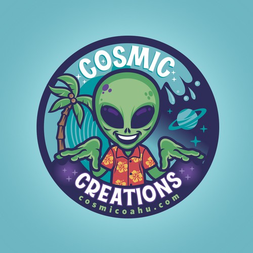 Cosmic Sticker