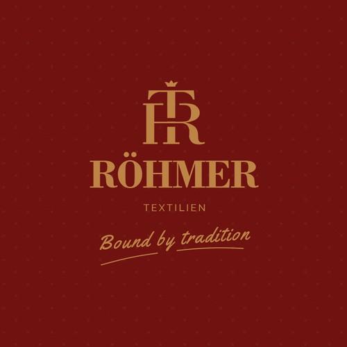 Logo concept for a textile company