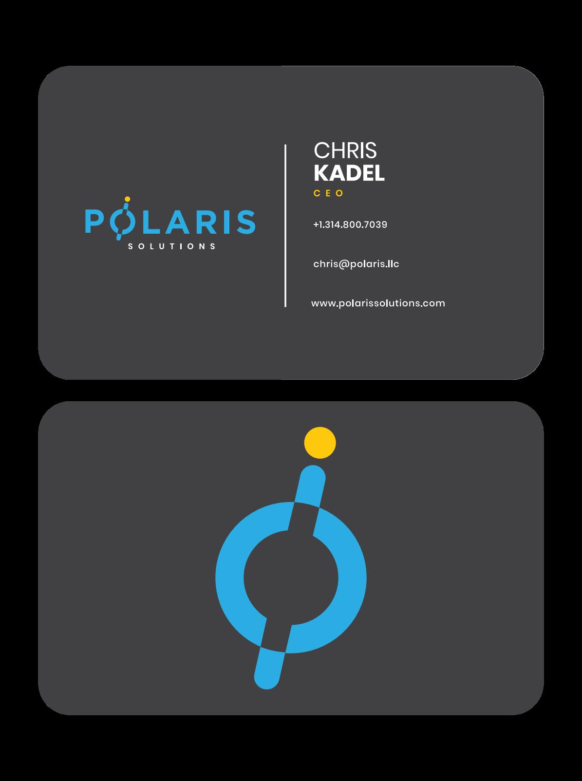 Polaris Solutions Business Card Design