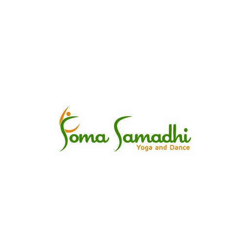 simple and meaningful logo for SOMA SAMADHI