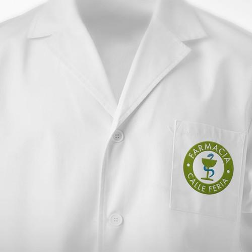 Renueva el logo de una farmacia de pueblo para que no parezca de pueblo.