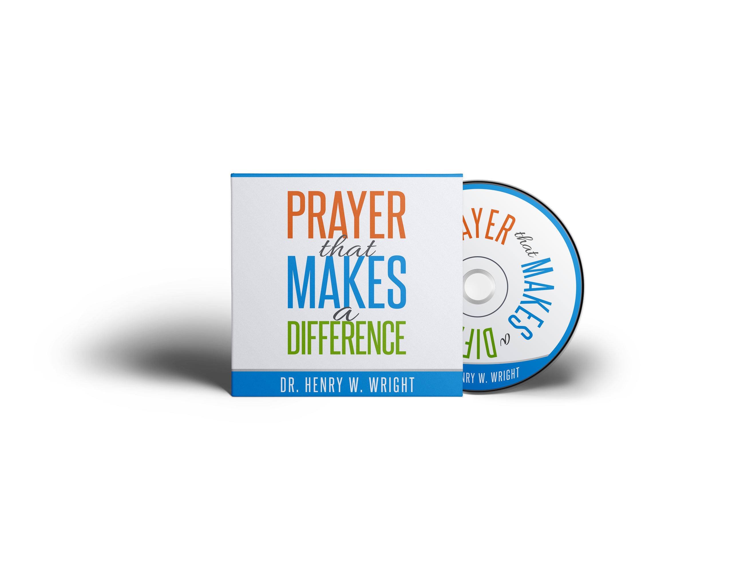 """Create a Simple and positive CD cover for a teaching called, """"Prayer That Makes A Difference"""""""
