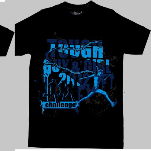 Event t-Shirt for Tough Guy/Gal Challenge