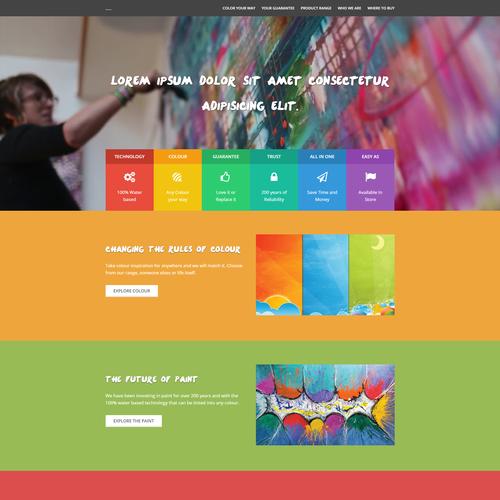 Artist homepage