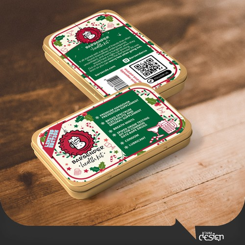 Holiday Theme for BARSENDER health kit