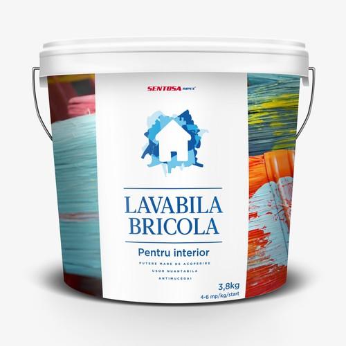 Paint primer label