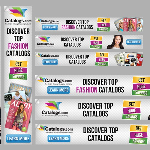 Help Catalogs.com with a new banner ad