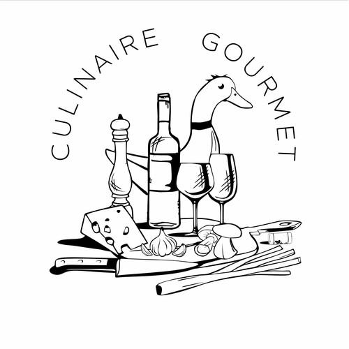 French Cookbook/Instagram Logo