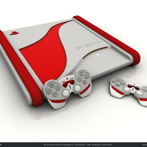 Playstation 4 Console Concept Designs Wanted