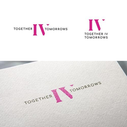 A mature contemporary logo for a breast cancer fundraising program
