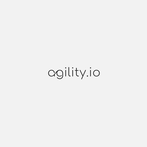 Wordmark Proposal for agility.io