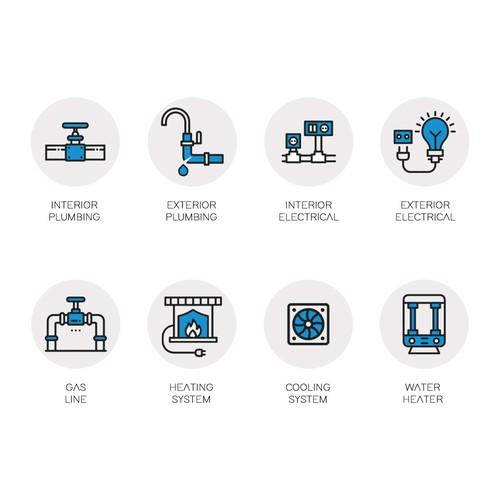 Custom Repair Icons