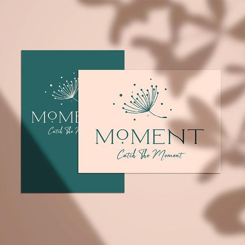 Delicate perfume logo