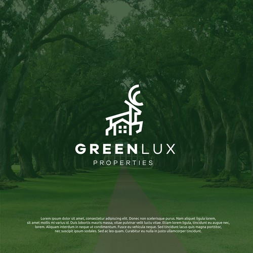logo concept for greenlux