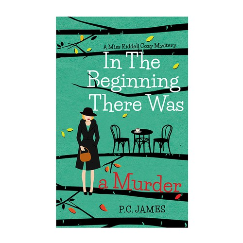 "Book cover for ""In The Beginning There Was a Murder"""